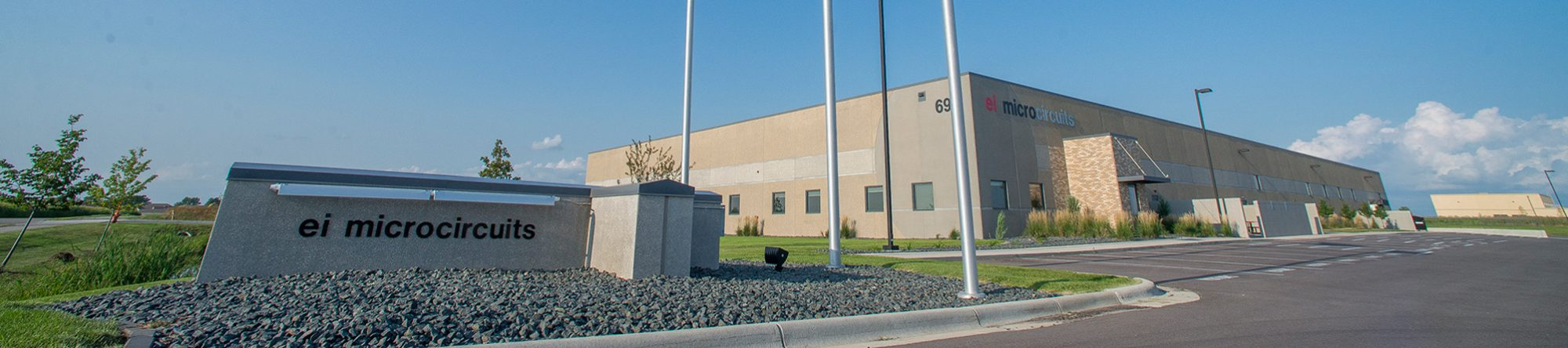 EI Microcircuits Manufacturing Facility at Power Drive in Mankato, MN